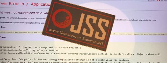JSS FormatException: DebugOnly
