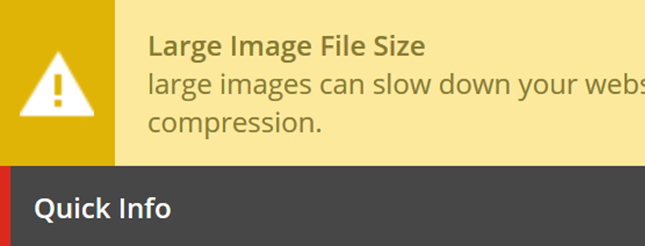 Sitecore Content Editor Warning for large images